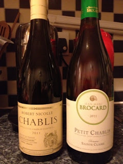 Chablis and a Take-away! A Blogger Challenge