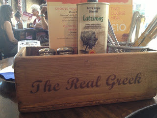 Restaurant Review – The Real Greek – Covent Garden