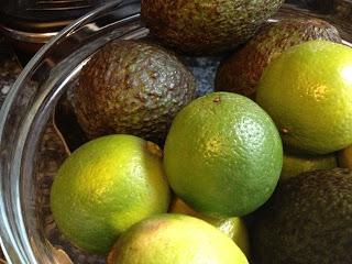 A Frugal Kitchen – Market Bargains – Limes and Avacados