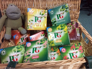 My Office Tea Party with Monkey and PG Tips!