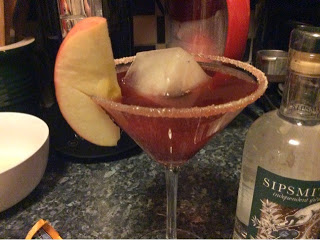 Sipsmith's Cocktail Challenge – Blackberry & Apple Gin Fizz
