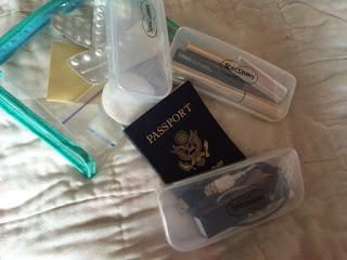 Travel Tip 1: Clear Glasses Cases