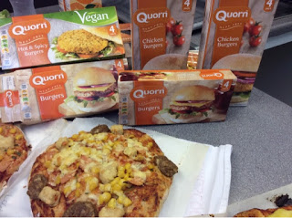 London: Quorn cooking at The Kids Cookery School
