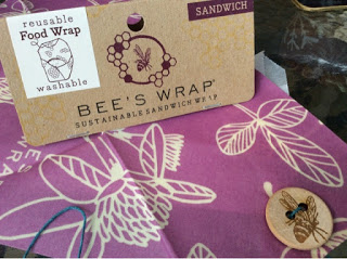 Review and Giveaway:- Bee's Wrap – Sustainable Food Wrap