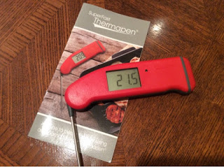 Get the meat temperature right with Thermapen and a Giveaway
