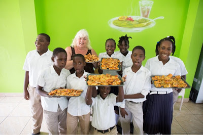Grenada: Making Pizza at Vendome RC School