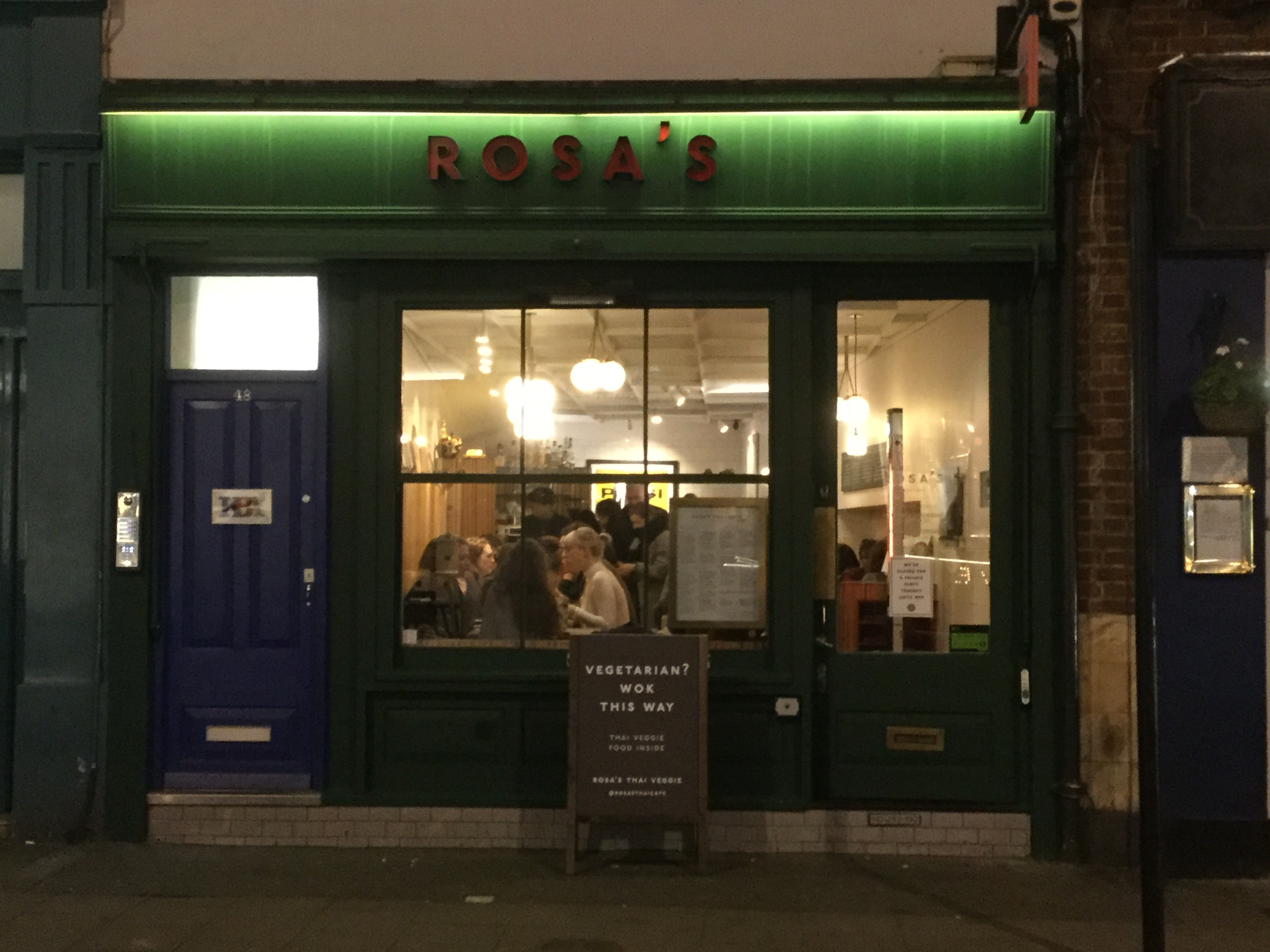 Veganuary – Rosa's Thai Veggie Pop-up
