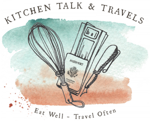 Kitchen Talk and Travels logo