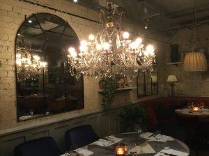 Bill's restaurant interior
