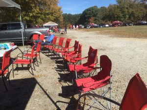 Tailgate party seating