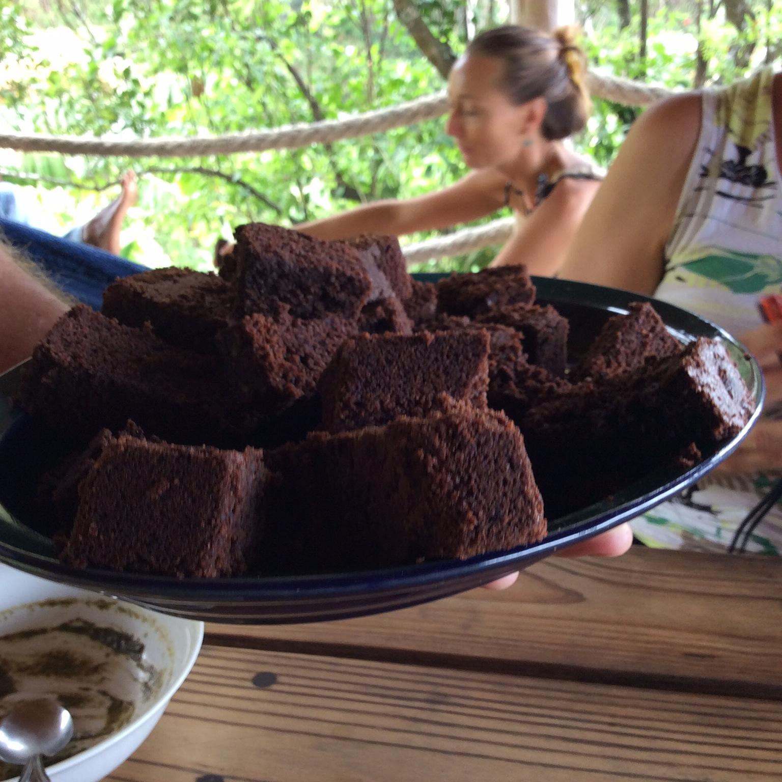 Grenada: Recipe for Crayfish Bay Chocolate Cake