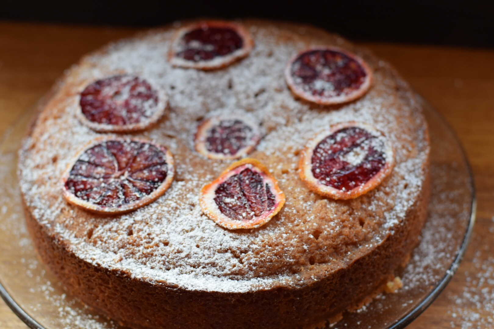 Recipe: Best Blood Orange Drizzle Cake