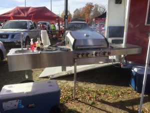 Tailgate party BBQ