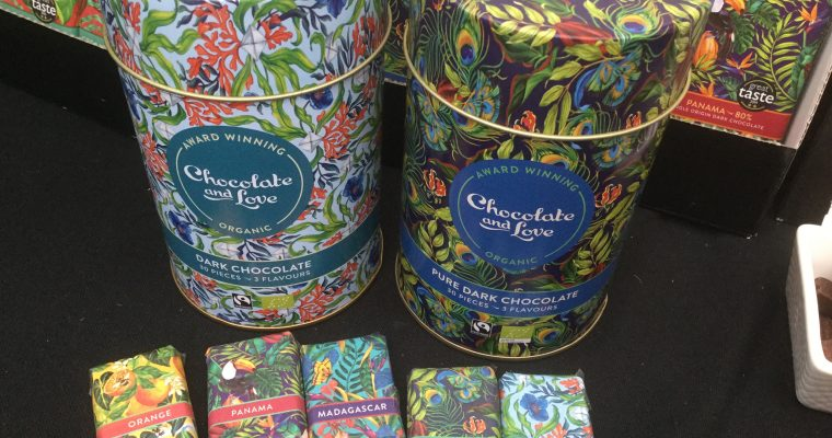 Giveaway: Two Beautiful Tins Filled with Chocolate and Love's Mini Bars.