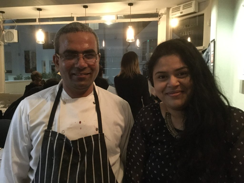 Chef Saurav Nath supperclub