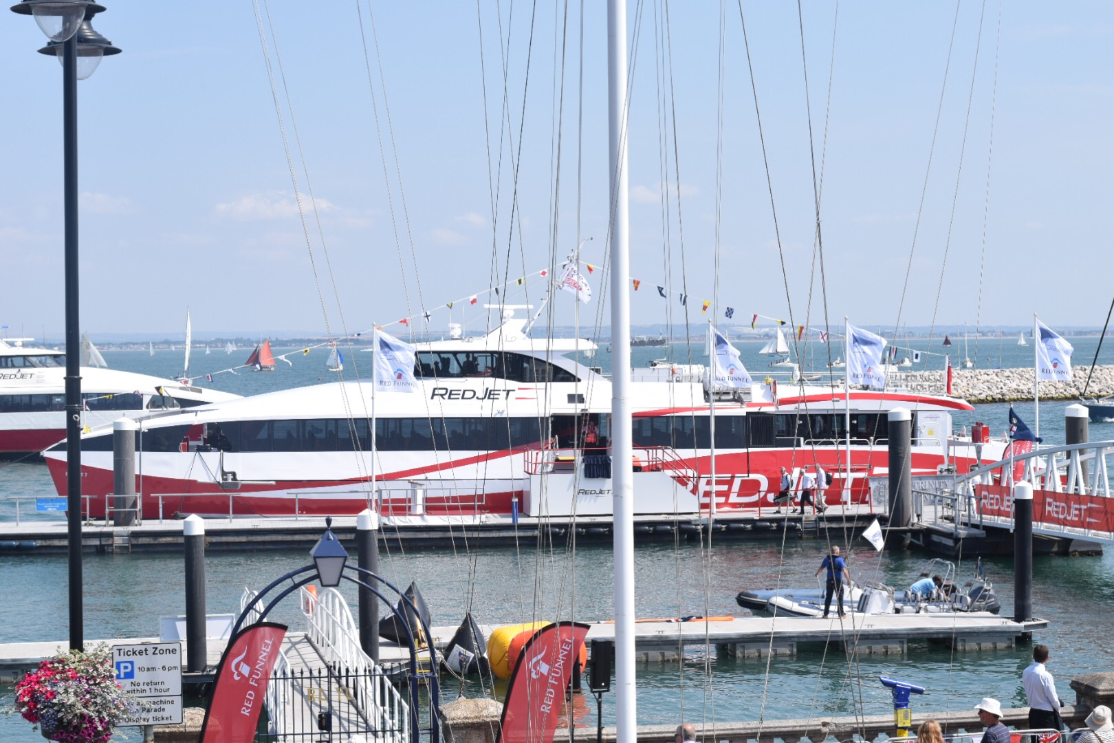 Isle of Wight: Red Funnel Ferries Fleet Launch Red Jet 7
