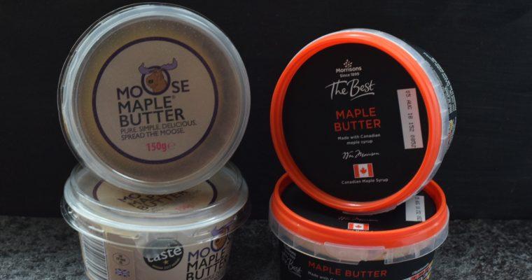 Moose Maple Butter -vs- Morrisons Maple Butter