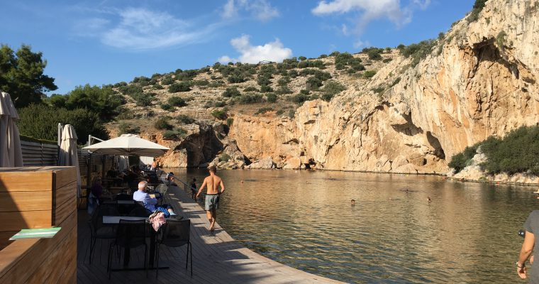 Athens Greece: Vouliagmeni Lake