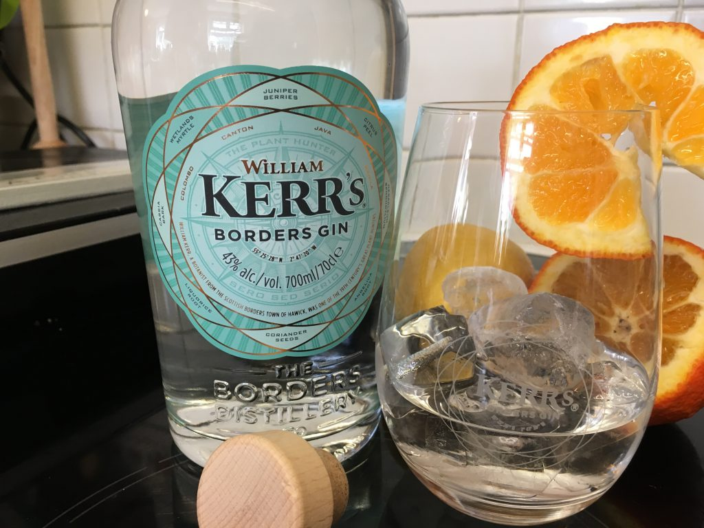 Giveaway: a bottle of William Kerr's Borders Gin